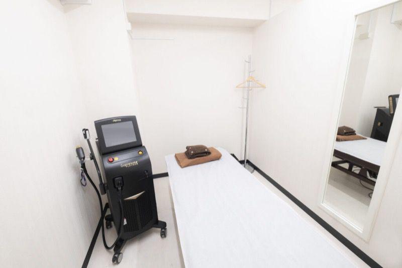 メンズジェニーの施術室